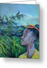 Jamaica. Part Two Greeting Card by Anna  Duyunova