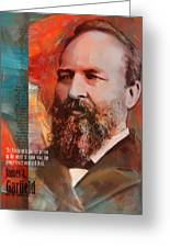 James A. Garfield Greeting Card by Corporate Art Task Force