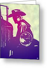 James Dean Greeting Card by Giuseppe Cristiano