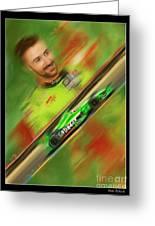 James Hinchcliffe Greeting Card by Blake Richards