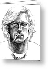 James Hunt Greeting Card by Diane Fine