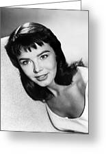 Janet Munro Greeting Card by Silver Screen