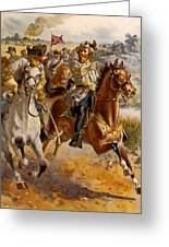 Jeb Stuart Civil War Greeting Card by Henry Alexander Ogden
