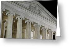 Jefferson Memorial - Washington Dc - 01131 Greeting Card by DC Photographer