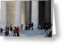 Jefferson Memorial - Washington Dc - 01132 Greeting Card by DC Photographer
