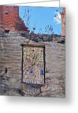 Jerome Arizona - Ruins - 02 Greeting Card by Gregory Dyer