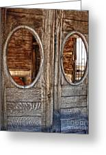 Jerome Arizona - Saloon Greeting Card by Gregory Dyer