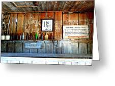 Jersey Lilly Saloon Greeting Card by Avis  Noelle