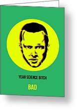 Jesse Breaking Bad Poster 2 Greeting Card by Naxart Studio