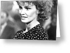 Jessica Lange in Country  Greeting Card by Silver Screen