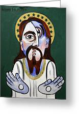 Jesus Christ Superstar Greeting Card by Anthony Falbo