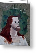 Jesus Christ Greeting Card by Susan Roberts