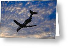 Jet Take Off Greeting Card by Will and Deni McIntyre