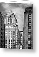 Jewelers' Building - 35 East Wacker Chicago Greeting Card by Christine Till