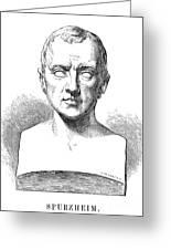 Johann Kaspar Spurzheim Greeting Card by Granger