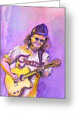 John Bell With Hat Greeting Card by David Sockrider