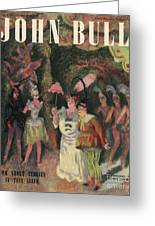 John Bull 1946 1940s Uk Pantomimes Greeting Card by The Advertising Archives