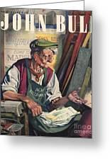 John Bull 1947 1940s Uk Birds Feeding Greeting Card by The Advertising Archives
