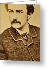 John Wilkes Booth Greeting Card by Anonymous