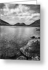 Jordan Pond Acadia National Park Maine. Greeting Card by Diane Diederich