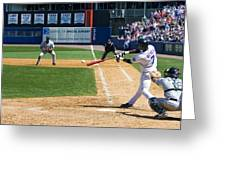 Jose Reyes Pano Greeting Card by Noah Dachis