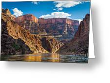 Journey Through The Grand Canyon Greeting Card by Inge Johnsson