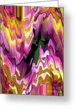 Jowey Gipsy Abstract Greeting Card by J McCombie