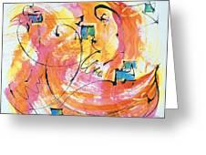 Joy Greeting Card by Asha Carolyn Young