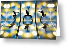 Joy Of Movement Greeting Card by Bob Orsillo