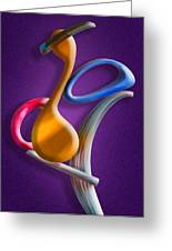 Juggling Act Greeting Card by Paul Wear