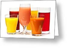 Juices Greeting Card by Elena Elisseeva