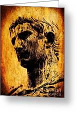 Julius Caesar  Greeting Card by Mike Grubb