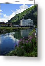 Juneau Federal Building Greeting Card by Cathy Mahnke