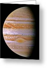 Jupiter And The Spot Greeting Card by Benjamin Yeager