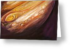 Jupiter Greeting Card by Sheila Diemert