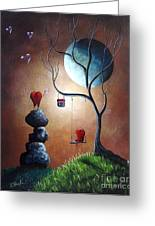 Just Because I Love You By Shawna Erback Greeting Card by Shawna Erback