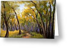 Just before Autumn Greeting Card by Susan Jenkins