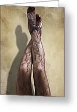 Just Legs Greeting Card by Svetlana Sewell
