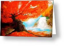 Just Like A Dream Greeting Card by Daniela Di Meglio
