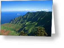 Kalalau Valley Greeting Card by Brian Harig