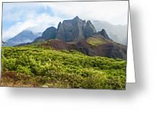 Kalalau Valley - Kauai Hawaii Greeting Card by Brian Harig