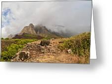 Kalalau Valley Rainbow - Kauai Hawaii Greeting Card by Brian Harig
