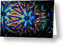 Kaleidoscope Light Perception 4 Greeting Card by Lanjee Chee