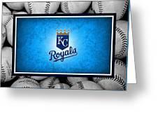 Kansas City Royals Greeting Card by Joe Hamilton