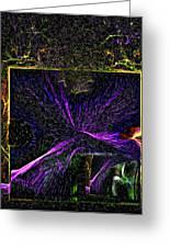 Karmic Doorways Of Destiny Greeting Card by Rebecca Phillips