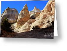Kasha-katuwe Tent Rocks Greeting Card by Bob Christopher