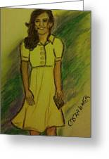 Kate Middleton Greeting Card by Christy Brammer
