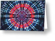 Kazamm Mandala Greeting Card by Courtenay Pollock