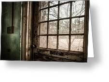 Keep Door Locked Greeting Card by Gary Heller