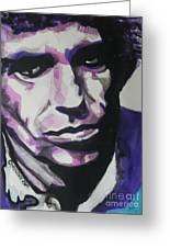 Keith Richards Greeting Card by Chrisann Ellis